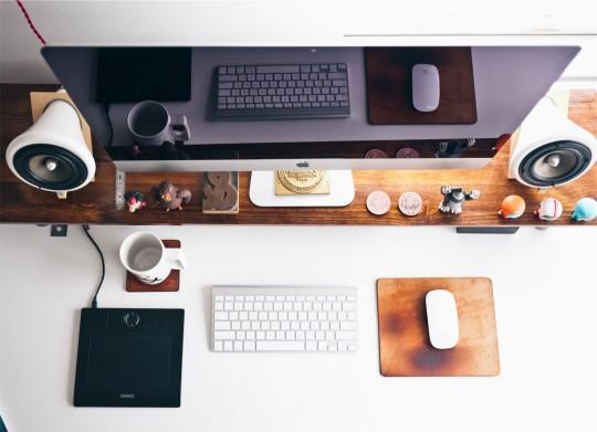New Desk Arrangement